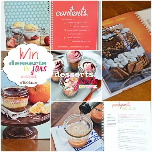 Desserts in Jars Cookbook giveaway