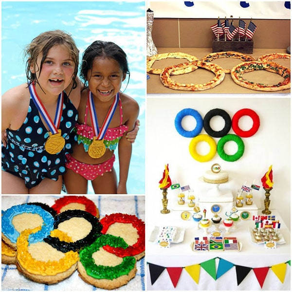 Olympic themed parties