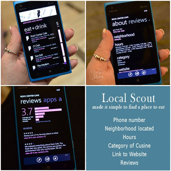 Using Local Scout on Windows Phone