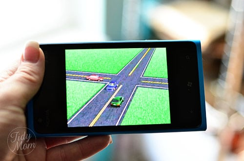 drivers test app on Windows Phone