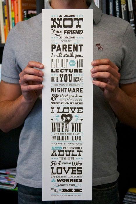 parent promise poster