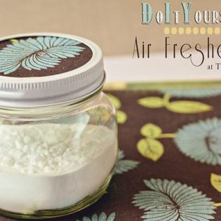 Baking Soda Air Freshener at TidyMom.net