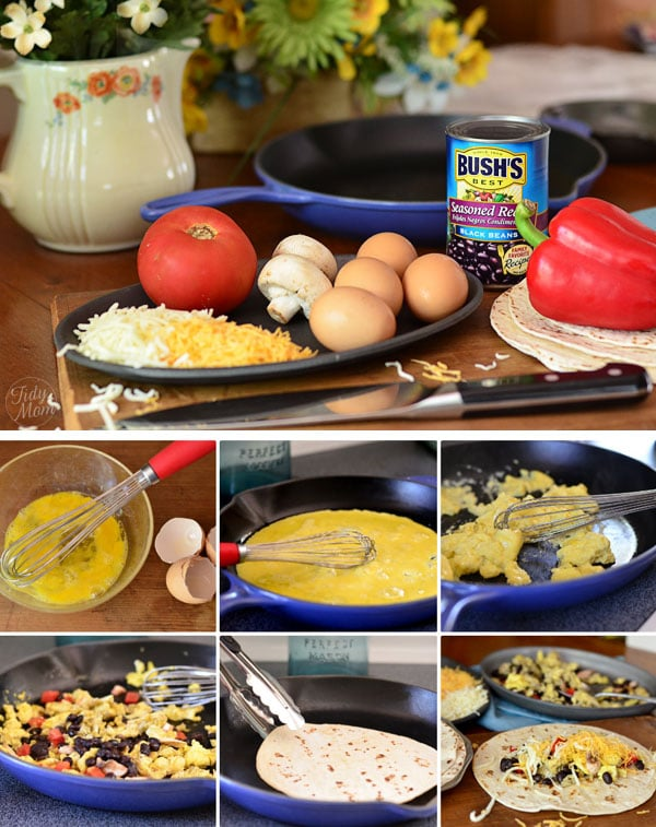 How to make Rise and Shine Burritos at TidyMom.net