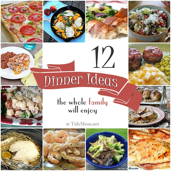 Family friendly dinner recipe roundup 12 family friendly dinner ideas at tidymom forumfinder Image collections