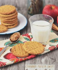 Cinnamon Raisin Peanut Butter Cookies at TidyMom.net