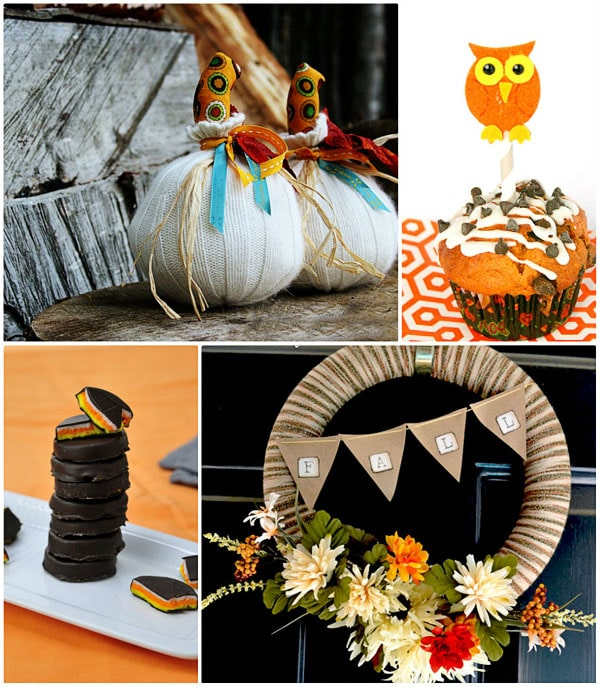 Fun Fall craft ideas at TidyMom.net