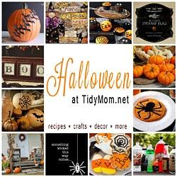 Halloween at TidyMom.net