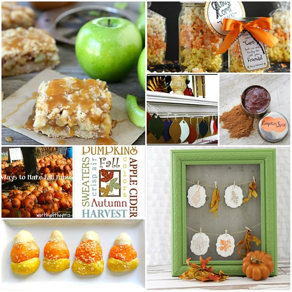 Ideas to Make Fall Fabulous at TidyMom.net