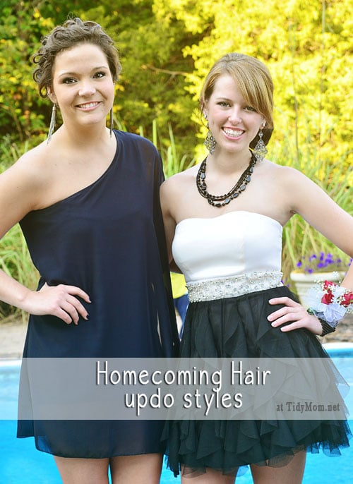 Homecoming Hairstyles at TidyMom.net
