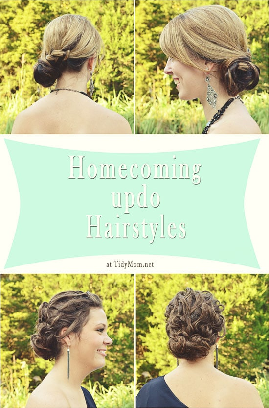 Homecoming Updo Hairstyles at TidyMom.net