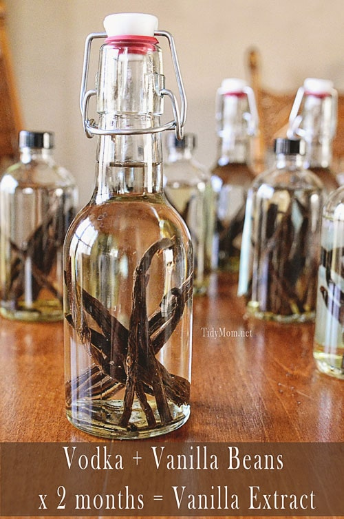 Homemade Vanilla recipe at TidyMom.net