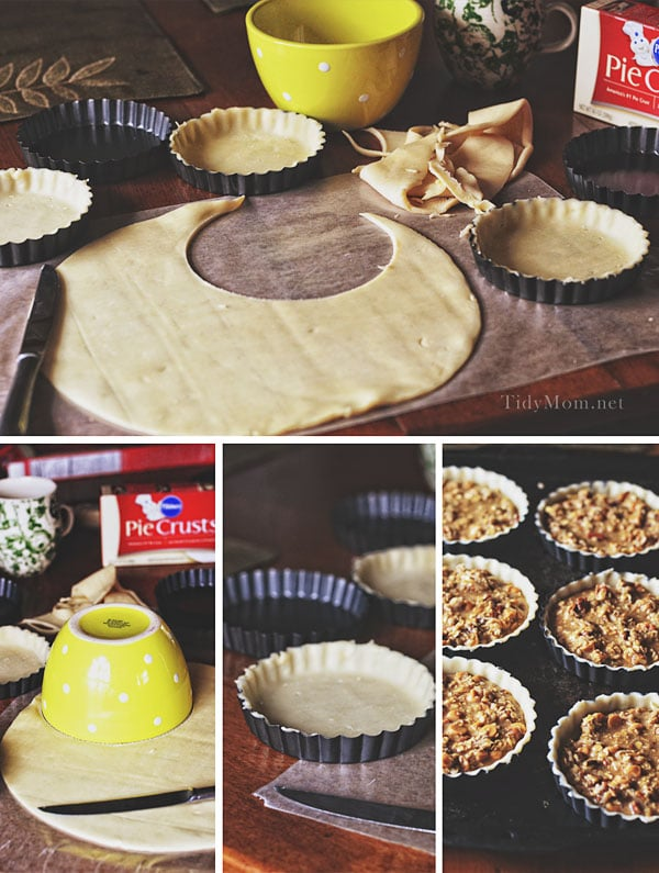 How to make mini pies at TidyMom.net