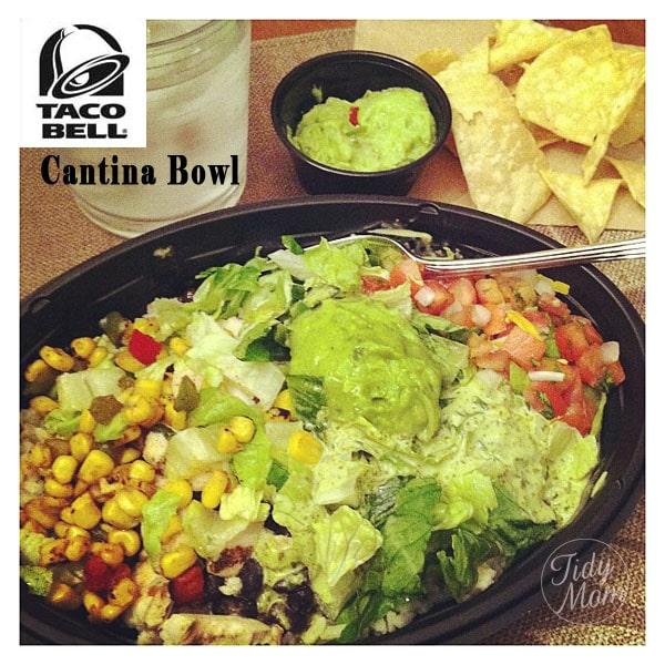 Taco Bell Cantina Bowl at TidyMom