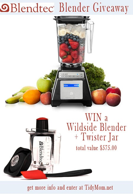 Win a Blendtec Blender at TidyMom.net