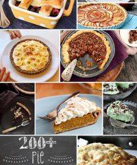 200+ Pie Recipes