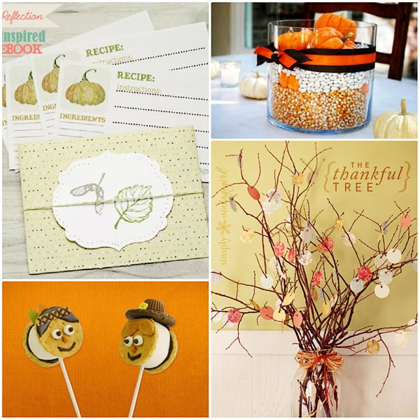Creative ideas for Thanksgiving