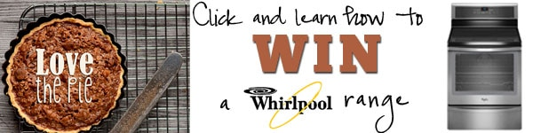 Click to enter to win a Whirlpool range Love the Pie at TidyMom.net