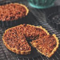 Peanut Butter Oatmeal Cookie Pie