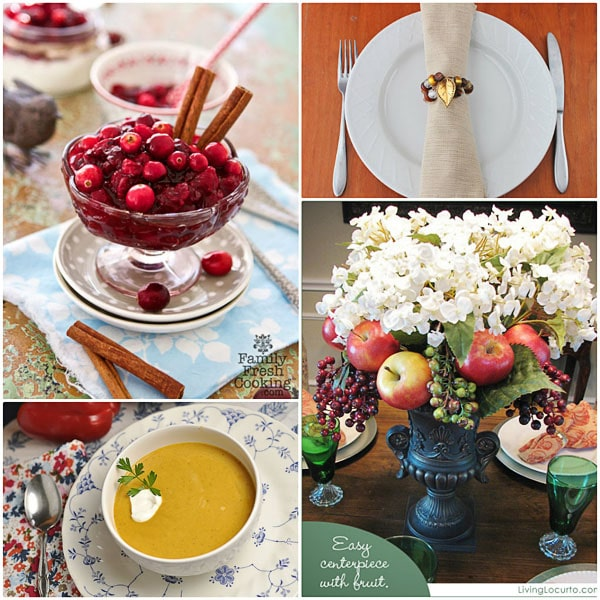 Thanksgiving Table Ideas at TidyMom.net