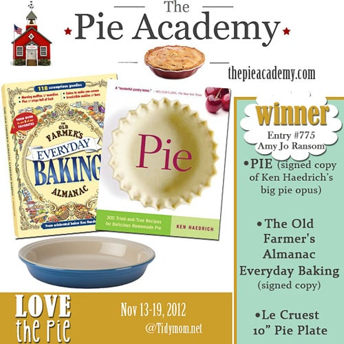The Pie Academy Winner