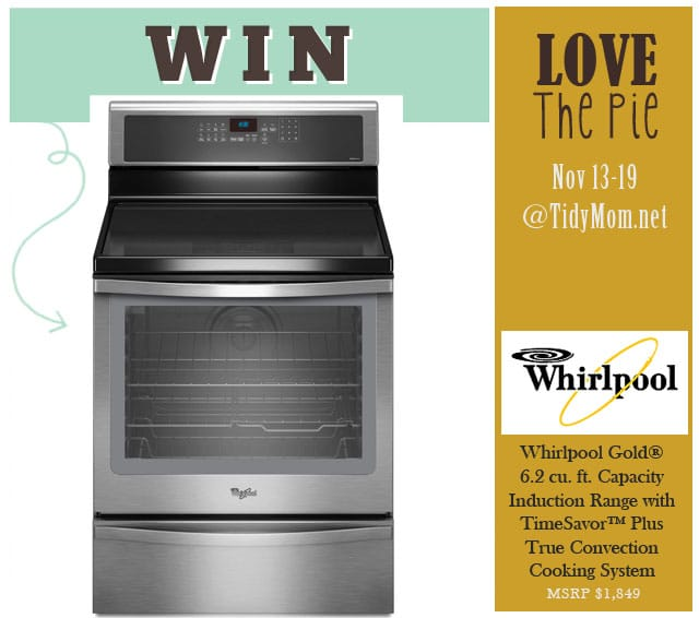 Win a Whirlpool Range Love the Pie 2012 at TidyMom.net