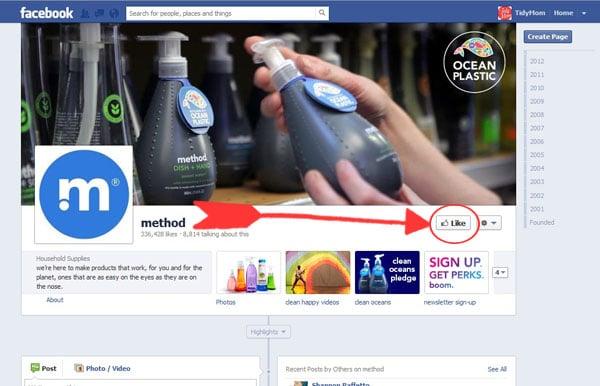 """""""LIKE"""" method on facebook"""