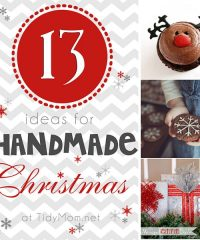 13 Handmade Christmas Ideas at TidyMom.net