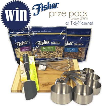 Fisher Nuts Prize Pack Giveaway at Tidymom.net