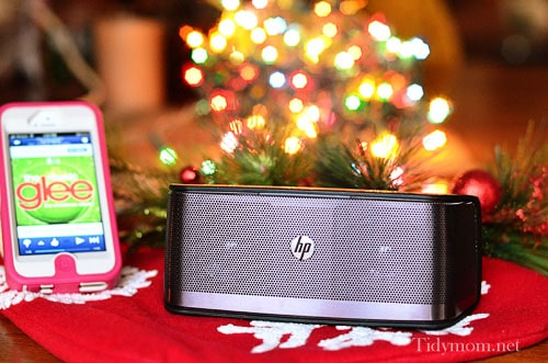 HP Portable Bluetooth Speaker at TidyMom.net