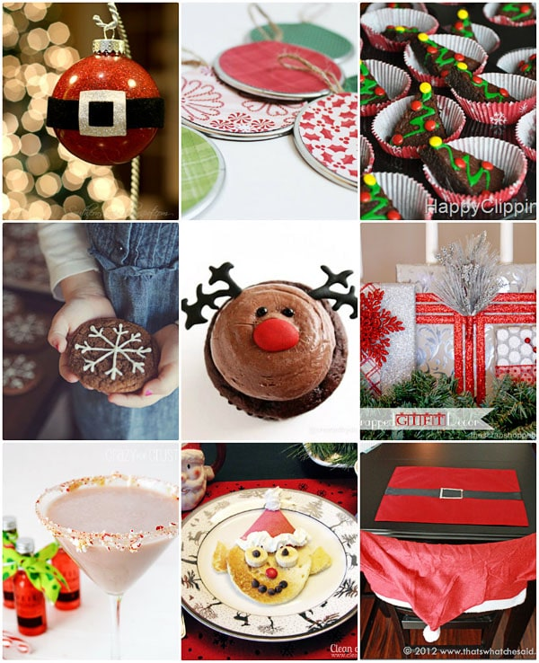 Handmade Christmas at TidyMom.net