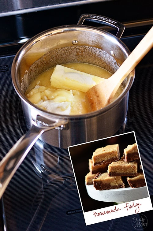LeCreuset Cookware and Homemade Fudge at TidyMom.net