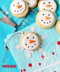 Snowman Cookies at TidyMom.net