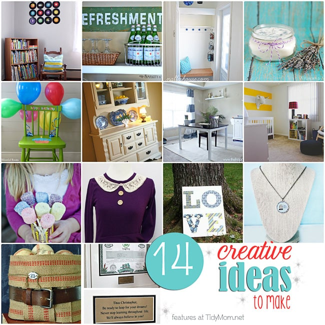 14 creative ideas to make