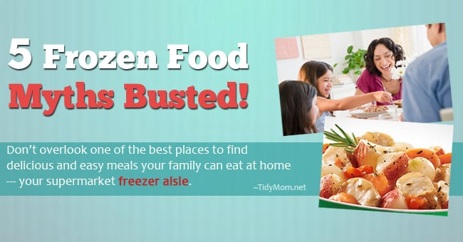 5 frozen food myths busted TidyMom