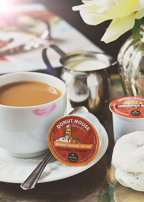 Donut House Coffee k-cup packs