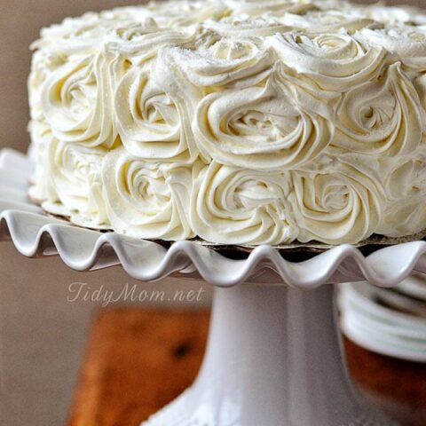 Quick Crusting Buttercream Frosting
