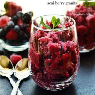Acai Berry Granita