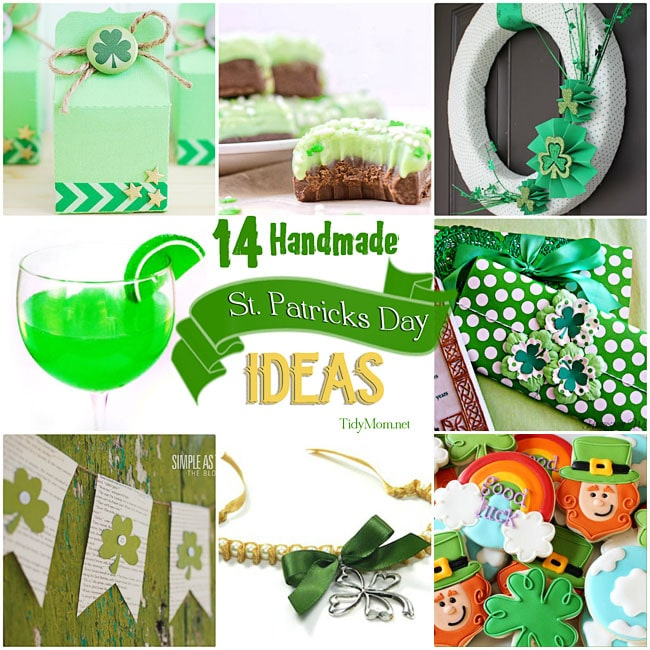 14 Handmade St. Patricks Day Ideas