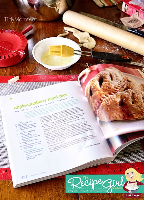 Recipe Girl Cookbook at TidyMom