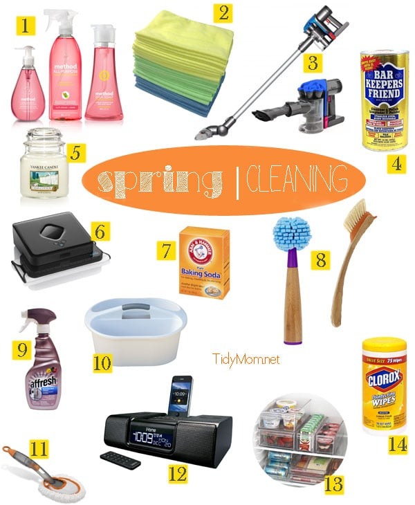Spring Cleaning at TidyMom
