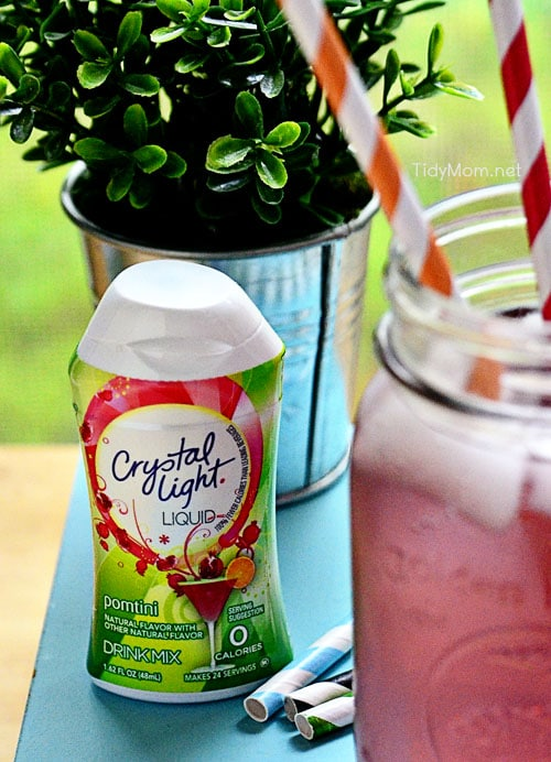 Crystal Light Liquid Pomtini at TidyMom.net