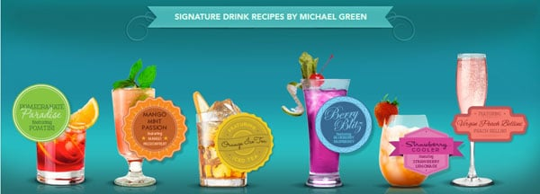 Crystal Light Liquid Signature Drink Recipes by Michael Green