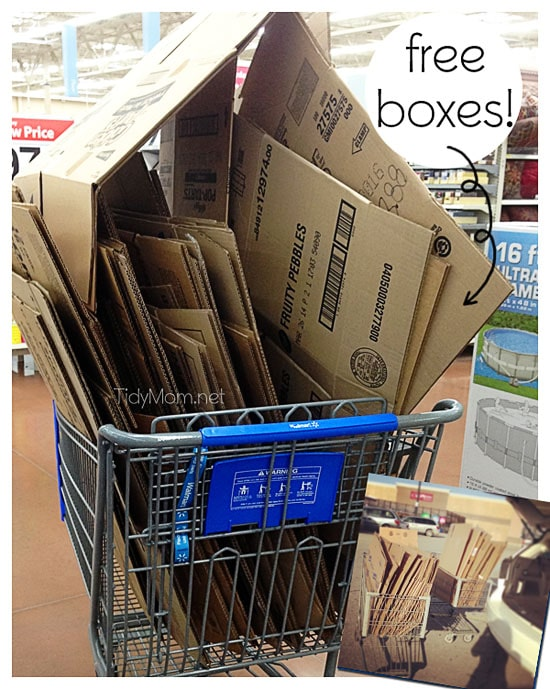 Save Money Moving - FREE Boxes