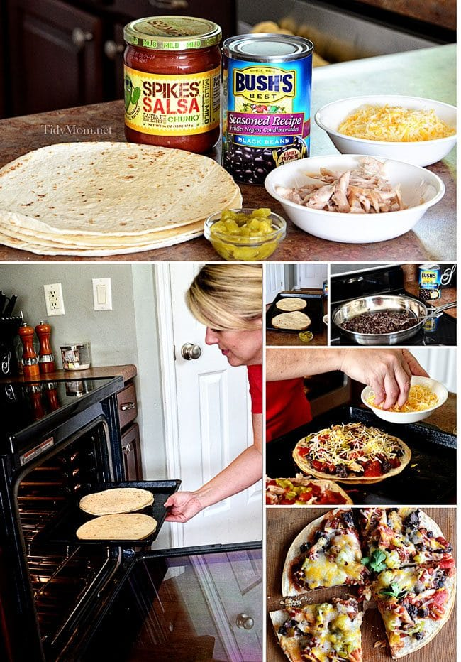 how to make mexican pizza