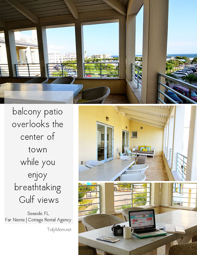Gorgeous scenic Gulf view Seaside, Florida | Far Niente cottage. Learn more at TidyMom.net