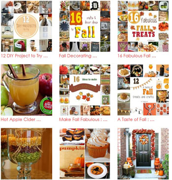 Hundreds of ideas for Fall! Recipes, crafts, decor and more at TidyMom.net