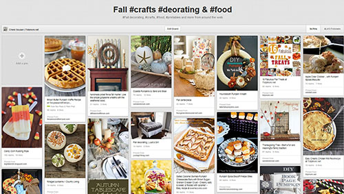 Fall Pinterest Board with the best treats, recipes, crafts, decor and more!