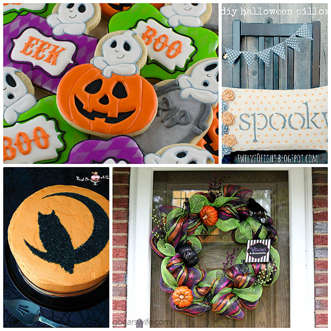 Halloween treats and crafts.  Features at TidyMom.net