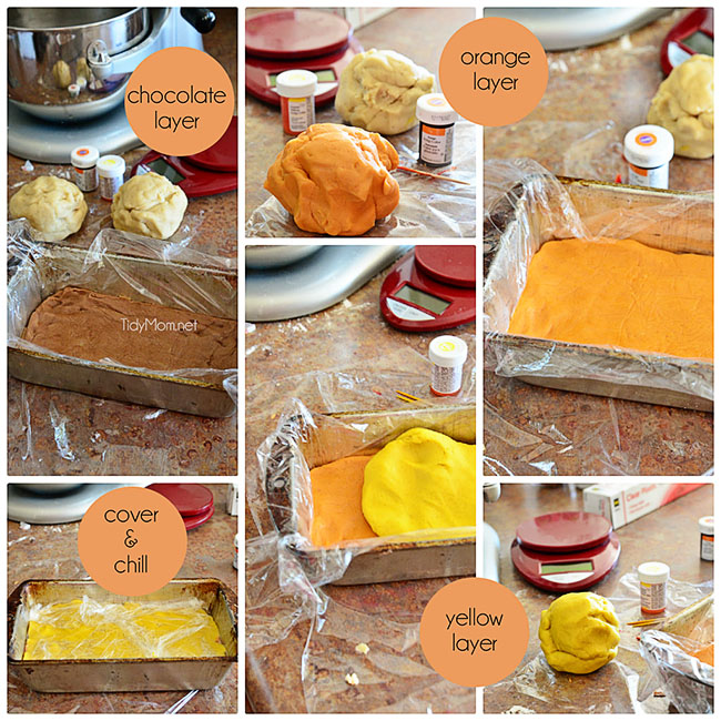 How to make Candy Corn Butter Cookies at TidyMom.net