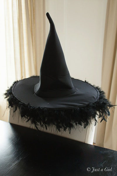 Diy decorated witch hat for Diy cast net